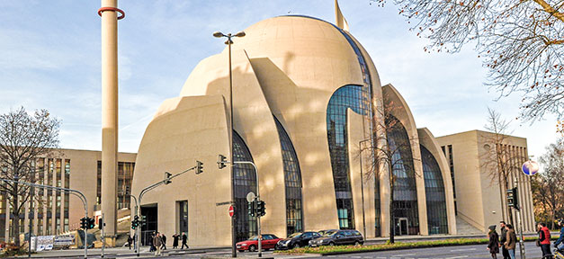 Moschee, Minarette, Ditib, Köln, Islam, Muslime