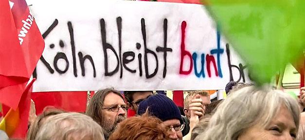Köln bleibt bunt, Demonstration, Demo, AfD, Rechtsextremismus, Rechtspopulismus