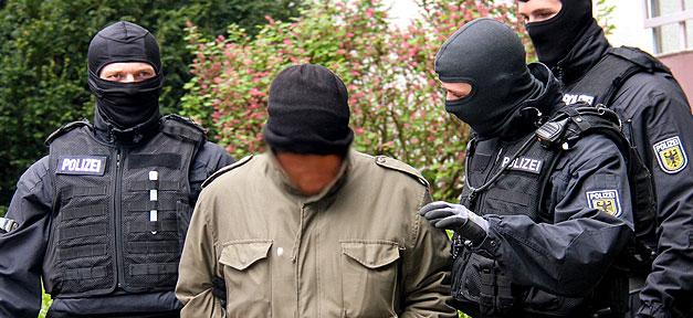 Polizei, Bundespolizei, Straftat, Festnahme, Tatverdächtiger