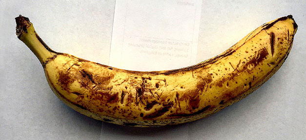 Banane, Rassimus, Frucht, Affe, faul, reif
