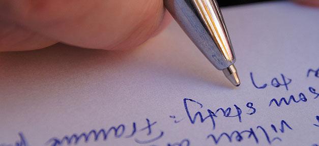 Schreiben, Buch, Roman, Kugelschreiber, Text, Autor