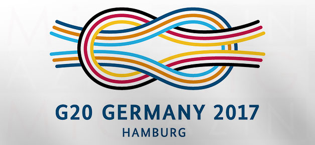 G20, Deutschland, Germany, Logo, Hamburg