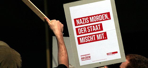 Demonstration, NSU, Staat, Nationalsozialistischer Untergrund, Demo, Rechtsextremismus
