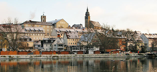 Stuttgart, Böblingen, Gemeinde, Kommune, Stadt, Fluss
