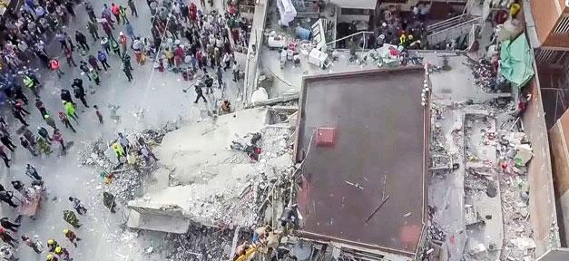 Erdbeben, Mexiko, Trümmer, Häuser, Menschen, Naturkatastrophe