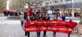 Dresdner demonstrieren gegen Rassismus