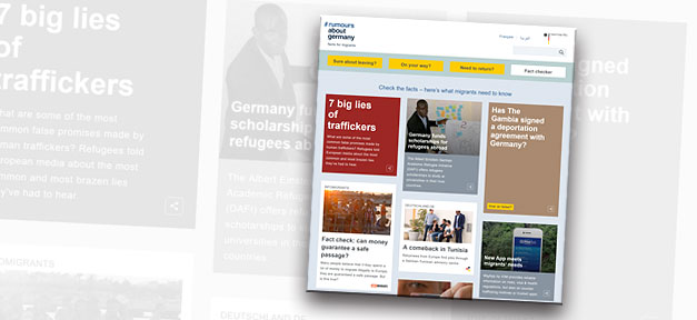 migranten, flüchtlinge, rumours about germany, facts for migrants