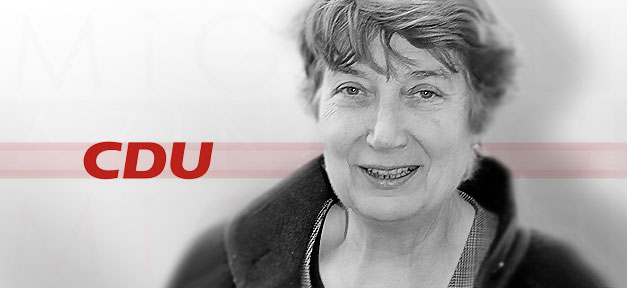 Barbara John, John, CDU, NSU, Ombudsfrau