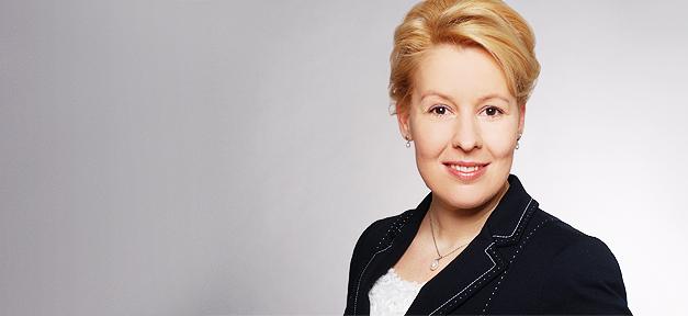 Franziska Giffey, SPD, Politikerin, Berlin, Neukölln,