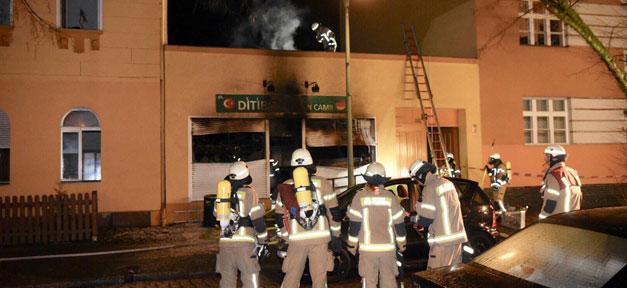 Brandanschlag, Ditib, Moschee, Brand, Islamfeindlichkeit