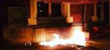 Unbekannte werfen Brandsätze auf Moschee