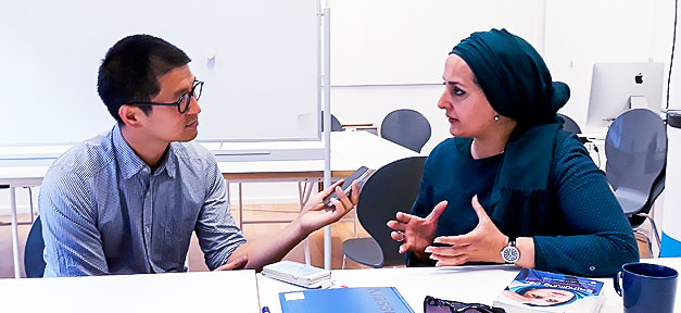 Fereshta Ludin, Van Bo Le-Mentzel, Interview, Gespräch, Unterhaltung