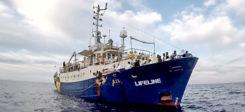 Lifeline, Rettungsschiff, Flüchtlinge, Mittelmeer,