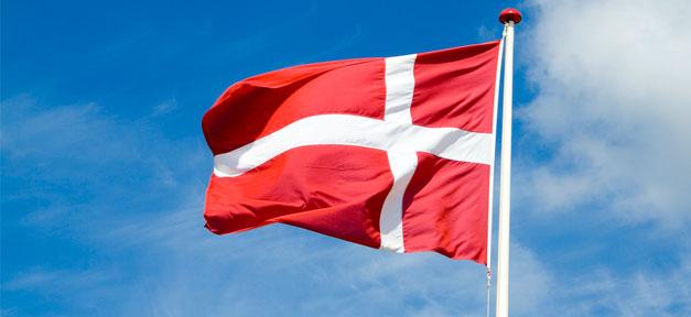 Dänemark, Fahne, Flagge, Fahnenmast, dänisch