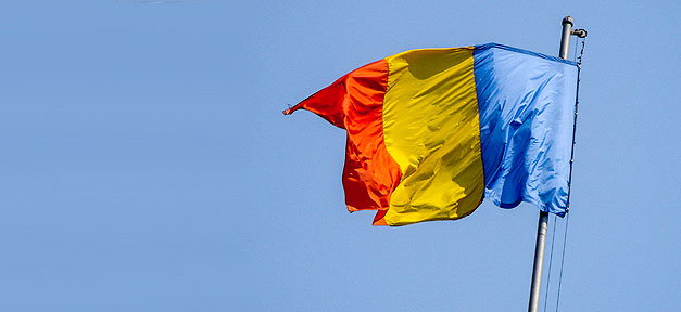 Rumänien, Flagge, Fahne, Staat, Mast, Fahnenmast