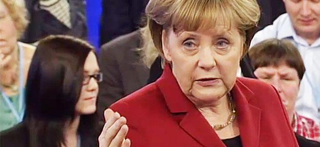 Angela Merkel. Bundeskanzlerin, Bürgerdialog, Gespräch, Merkel, Angie