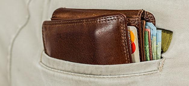 Brieftasche, Portemonnaie, Geld, Kreditkarte, Hose, Mann