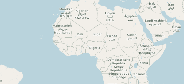 Niger, Afrika, Landkarte, Atlas, Weltkarte, Land