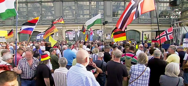 Pegida, Dresden, Rechtsextremismus, Neonazis