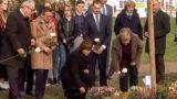 Merkel und Kretschmer besuchen NSU-Gedenkort