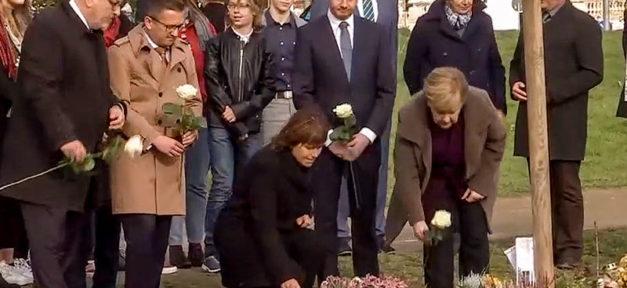 NSU, Angela Merkel, Zwickau, Gedenkort, Michael Kretschmer