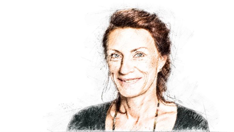 Ulla Jelpke (Die Linke), innenpolitische Sprecherin © linksfraktion.de / Zeichnung MiG