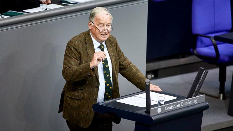 Alexander Gauland, AfD, Rede, Bundestag, Politik