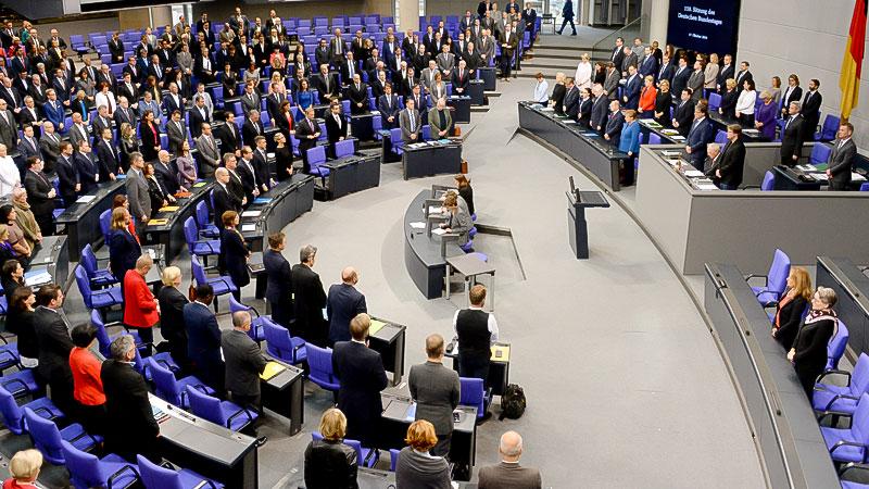 Bundestag, Politik, Berlin, Reichstag, Plenarsaal
