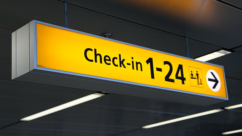 Flughafen, Check-in, Ankunft, Einwanderung, Migration