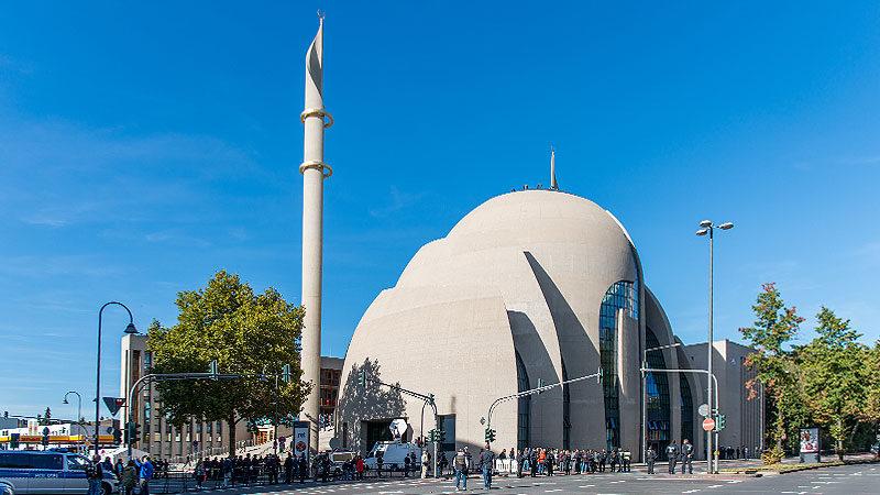 Ditib, Moschee, Köln, Minarette, Kuppel, Diyanet, Islam, Muslime
