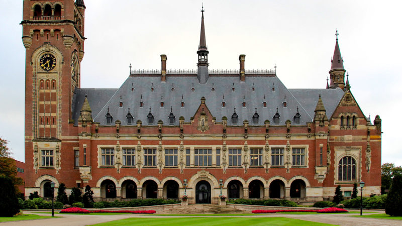 Internationaler Gerichtshof, Den Haag, Justiz, Recht, Justitia