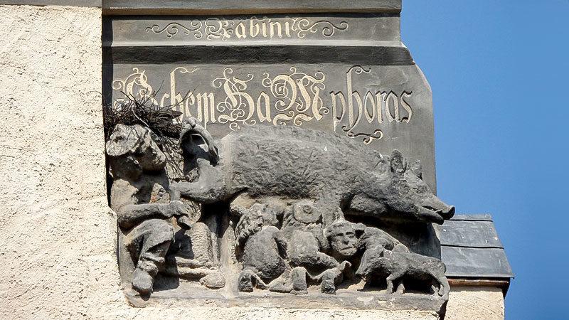 Judensau, Wittenberg, Lutherstadt, Antisemitsmus