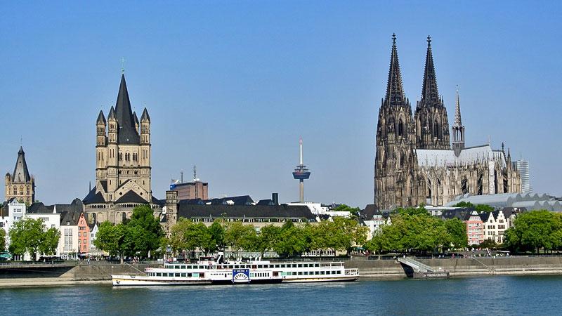 Köln, Stadt, Rhein, Dom, Kirche, Stadt Köln