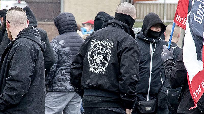 Neonazis, Rechtsextremisten, Rechtsextremismus, NPD, AfD, Demonstration