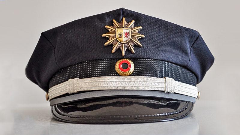 Polizei, Mütze, Mecklenburg-Vorpommern