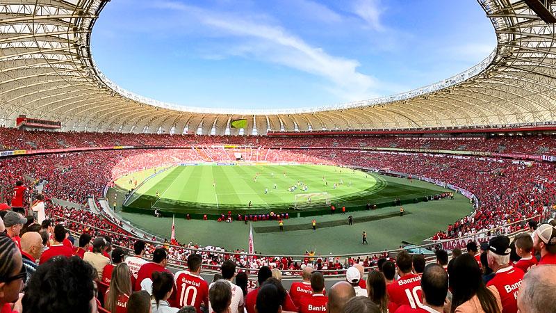 Stadion, Fußball, Fans, Jubel, Menschen