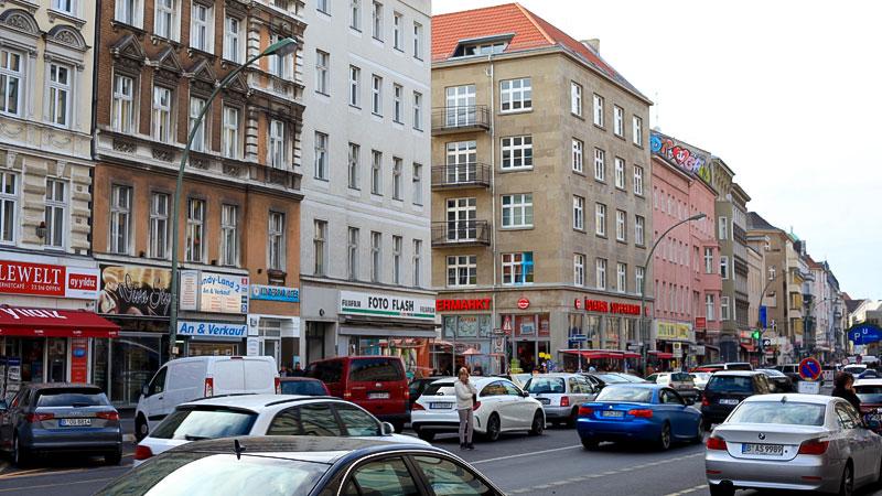 Berlin, Stadt, Verkehr, Straße, Autos, Menschen