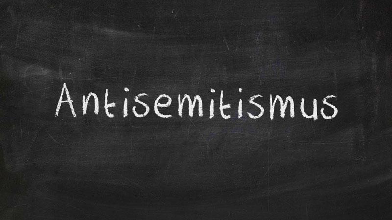 Antisemitismus, Tafel, Kreide, Judenfeindlichkeit, Rassismus
