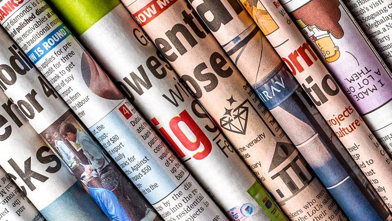 Zeitung, Presse, Journalismus, Medien, Tageszeitung
