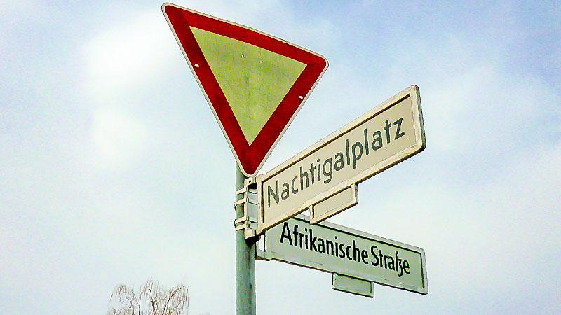 Berlin, Straßennamen, Kolonie, Geschichte, Kolonialgeschichte
