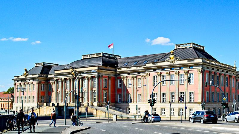 Landtag, Brandenburg, Gebäude, Politik, Parlament