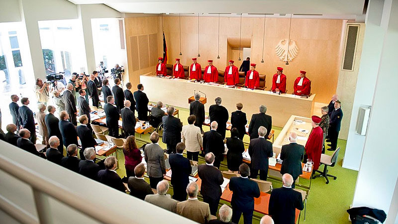 Bundesverfassungsgericht, BVerfG, Verfassungsgericht, Richter, Karlsruhe
