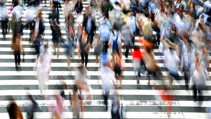 Gesellschaft, Menschen, Umfrage, Volk, Straße, Fußgänger