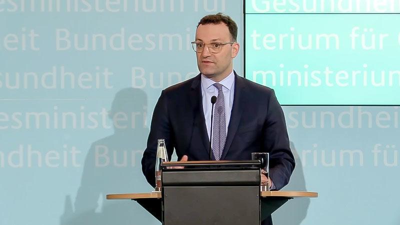 Jens Spahn, Bundesgesundheitsminister, Gesundheit, CDU, Politiker