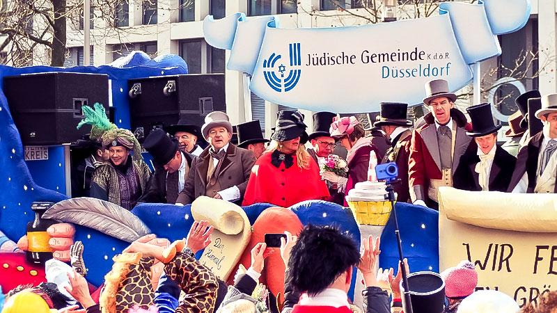 Karneval, Juden, Düsseldorf, Rosenmontag, Jüdische Gemeinde