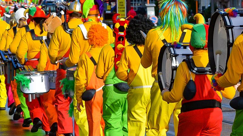 Karneval, Karnevalszug, Rosenmontag, Verkleidung