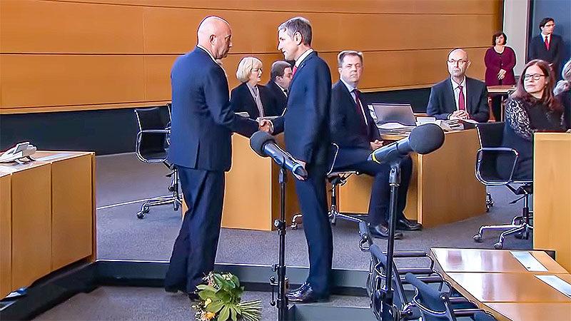 Thomas Kemmerich, Björn Höcke, Handschlag, Thüringen, Ministerpräsident