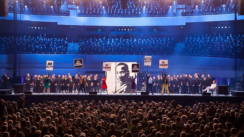 Muscial, Konzert, Rassismus, Bühne, Zuschauer, Martin Luther King