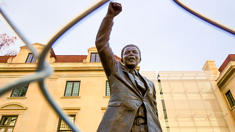 Nelson Mandela, Statue, Rassismus, Afrika, Mandela