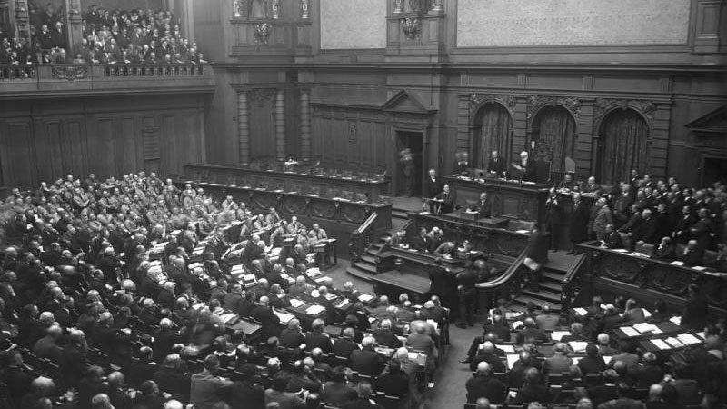 Reichstag, 1930, NSDAP, Geschichte, Nationalsozialismus